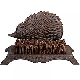 Fallen Fruits Cast Iron Hedgehog Boot Cleaning Brush