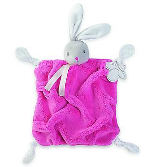 Kaloo Plume Doudou Raspberry Rabbit 7.9