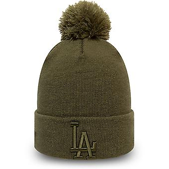 New Era Naisten talvi hattu Bobble pipo Los Angeles Dodgers