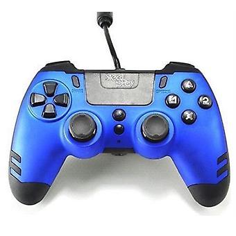 Steelplay - ميتالتيك تحكم السلكية - الأزرق PS4