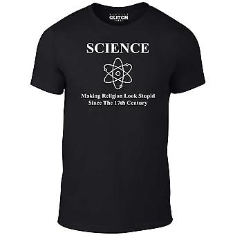 Science Making religie kijken domme t-shirt