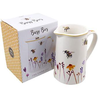 Busy Bees Wildflower Ceramic Jug