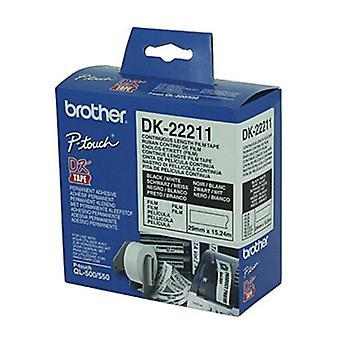 الأخ DK22211 15.24 متر لفة بيضاء