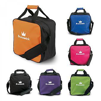 Brunswick TZone enkelt Tote 1 bold bowling taske til en bowlingkugle