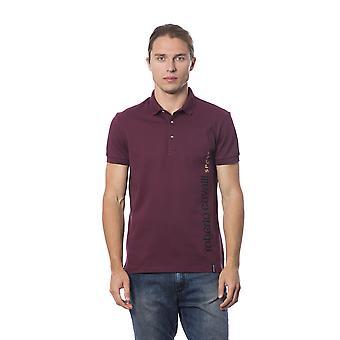 Polo short sleeves Bordeaux Roberto Cavalli men