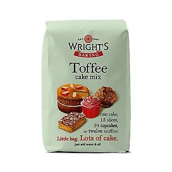 Wrights bakning Toffee Cake mix 500g-singel