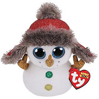 TY 36219 Buttons Snowman 15 cm Beanie Boo's