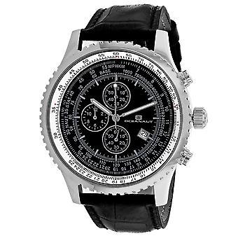 Oceanaut Men-apos;s Black Dial Watch - OC0312