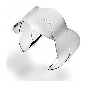 bastian inverun - 925/- Silver cuff, scratch matt - 22060