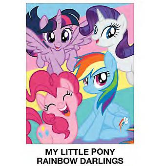 Super Soft Throws - My Little Pony - Rainbow Darlings New 45x60