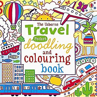 Pocket a rabiscar e colorir: viagens
