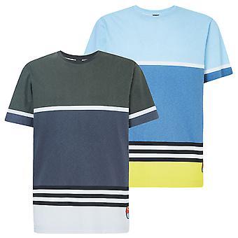 Oakley Herren 2020 gestreift 1975 SS leichte Baumwolle Surf T-Shirt