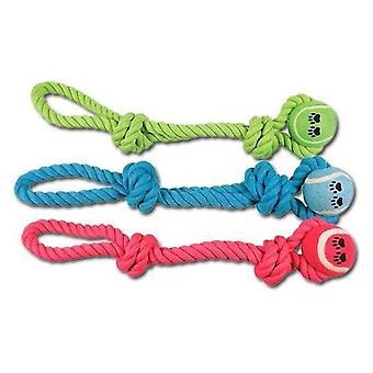 Nayeco Cuerda Dental Nudo+1Pelota 45 Cm-320 Grs (Dogs , Toys & Sport , Chew Toys)