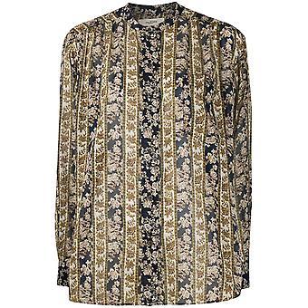 Isabel Marant Ch023820p079emiec Women's Blusa de Algodão Multicolor