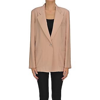 I.c.f. Ezgl456013 Women's Pink Polyester Blazer