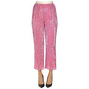 Sweet Matilda Ezgl314034 Women's Pink Polyester Pants