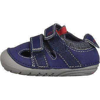 Kids Stride Rite Boys Elijah Fabric Low Top  Running Sneaker