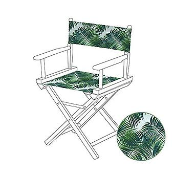 Tropical Palm Directors Chair Replacement Water Resistant Canvas Cover Garden