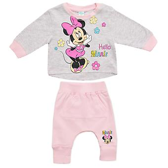 Disney minnie baby girls clothing set