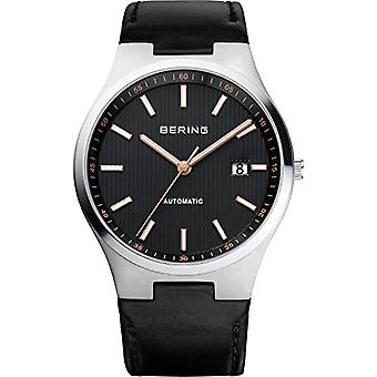 BERING Analog automatic men's watch with leather 13641-402