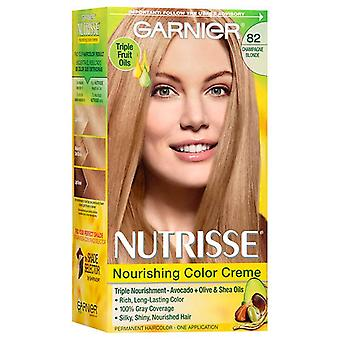 Garnier nutrisse nourishing hair color creme, blonde #82, 1 kit