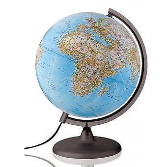 National Geographic 25cm Classic Reference World Globe (Illuminated)
