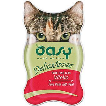 Oasy Fine Pate vasan kanssa (kissat , kissanruoka , märkä ruoka)