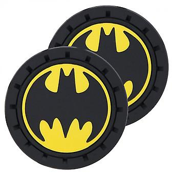 Batman Logo Car Cup Holder Coaster 2-pak