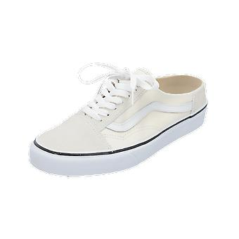 Vans Old Skool Mule Shoes Women's Men's Sneakers White Turn Shoes Sport Run