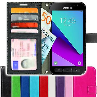 SUPER SLIM Samsung Galaxy Xcover 4 Wallet Case 4pcs Card