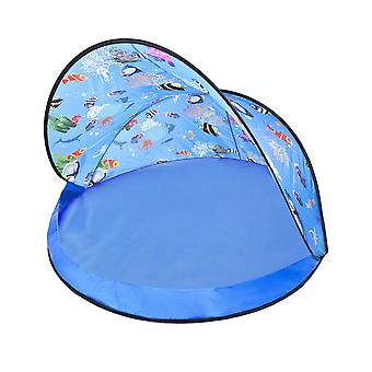 Paradiso Toys children's play tent 02824, foldable, UV protection 30+, beach, ball bath
