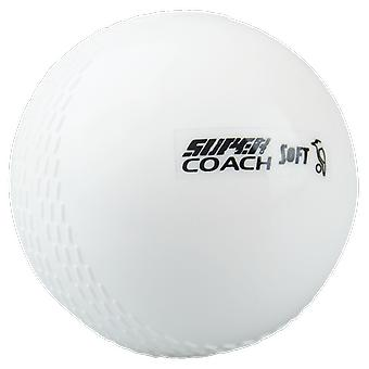 Kookaburra Cricket Super Coach Soft Beginners Training Ball x 12 - Herren