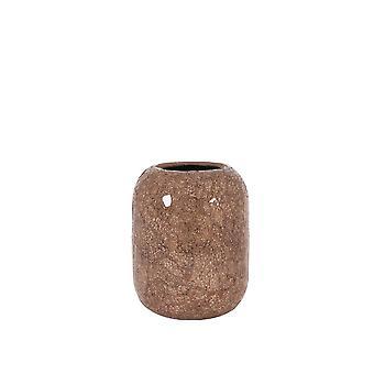 Light & Living Vase 20x24cm Tiago Glass Pink