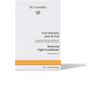 Dr. Hauschka nacht Conditioner vernieuwen geavanceerde nacht 10 X 1 Ml zorg voor vrouwen