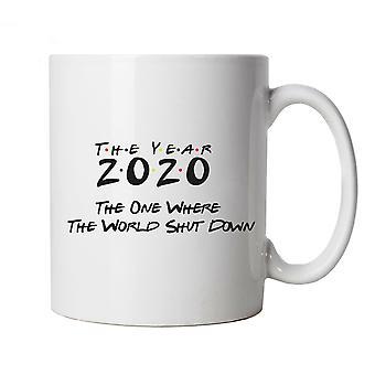 2020 Where the World Shutdown, Mug - Birthday lockdown Cup Gift