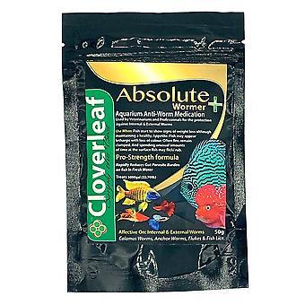Cloverleaf Absolute Aquarium Wormer 50g