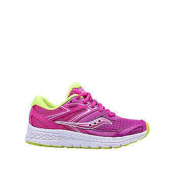 Saucony Girls' Cohesion 13 Ltt Running Shoes Fuchsia