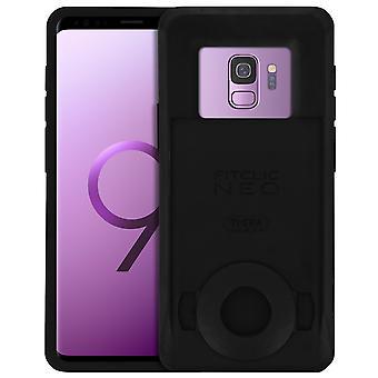 Fitclic Neo Semi-rigid Case Galaxy S8 / S9 Magnetic and Mechanical-Tigra, Black