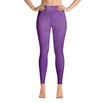 Workout Leggings | Yoga Leggings | Watercolor | Purple #3