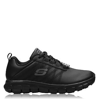 Skechers Womens Eratch Trainers Ladies Padded Ankle Collar Lace Up Shoes