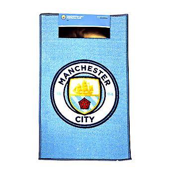 マンチェスター ・ シティ FC 公式印刷サッカー クレスト敷物