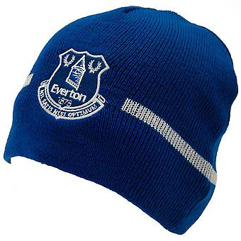 Everton FC desenho básico de malha chapéu do Beanie