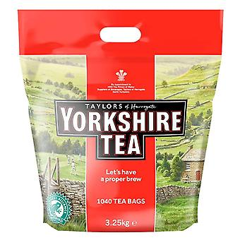 1040 Yorkshire Sachets de thé Hot Drink Black Tea