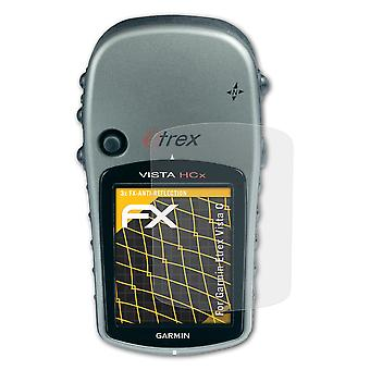 atFoliX Glass Protector compatible with Garmin Etrex Vista C Glass Protective Film 9H Hybrid-Glass