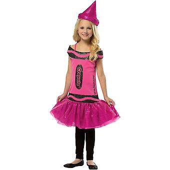 Crayon de Crayola Sequin rose enfant Costume