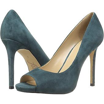 The Fix Women's Shoes Rosalee Fabric Peep Toe Classic Pumps