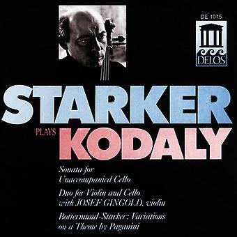 Z. Kodaly - Starker Plays Kodaly [CD] USA import