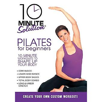 10 Minute Solution - Pilates for Beginners [DVD] USA import