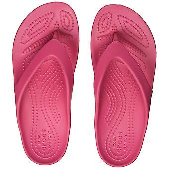 Crocs Women's Kadee II Flip Flop | Casual Lightweight Beach Sandal or Shower ...