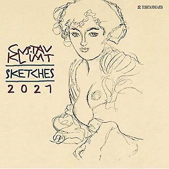 GUSTAV KLIMT SKETCHES 2021 by Gustav Klimt